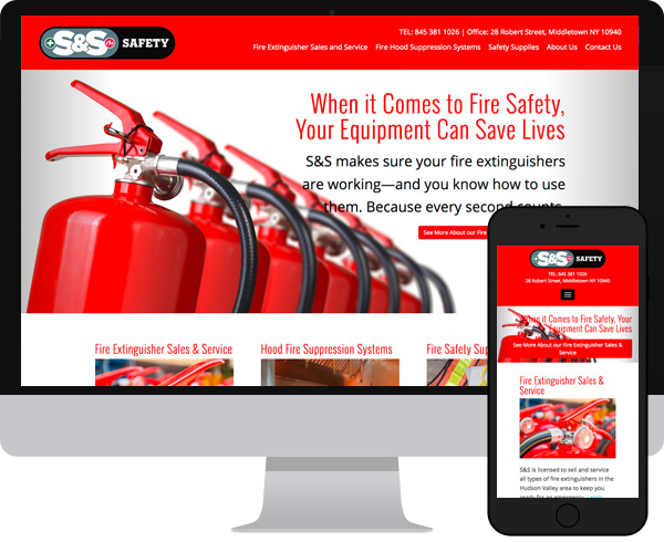 S&S Wordpress website